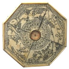 Old Oxbone Feng Shui Compass