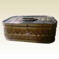 Beautifully detailed vintage Japanese bamboo box.