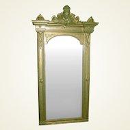 Large Ornate Victorian Mirror