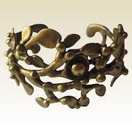 Beautiful vintage bracelet handmade by Monhegan artist