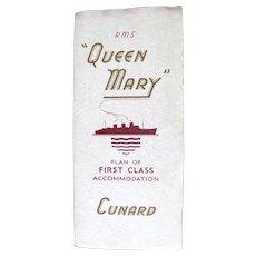 Cunard: R.M.S. Queen Mary, 1956
