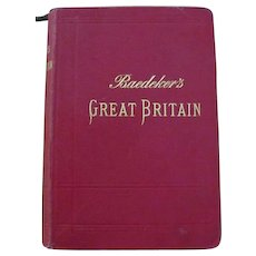 Baedeker; Great Britain, 1906