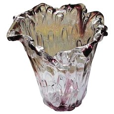 A Magnificent Crystal Adam Jablonski Vase