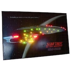 Star Trek Poster - lights up