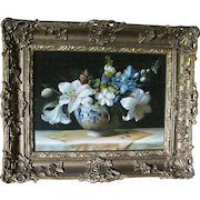 Beautiful Floral Still Life Oil Painting