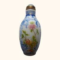 Imperial Kiln Snuff Bottle, 1890-1903 -
