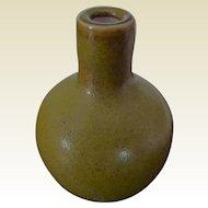 Chinese Antique Tea Dust Porcelain Snuff Bottle