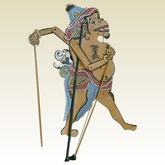 Indonesian/Balinese Shadow Puppet