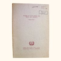 Moslems of Soviet Central Asia - Trends and Prospects - first showing 1954