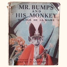 Mr. Bumps and his Monkey. First edition