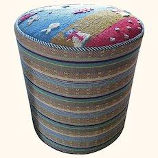 A Djiadjim/Nimbaft hassock/footstool