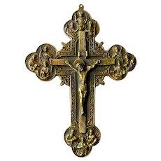 19C Italian Crucifix.