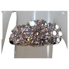14K Brilliant-Cut Diamond Anniversary Ring