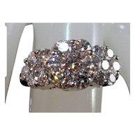 14K Brilliant-Cut VS Diamond Anniversary Ring