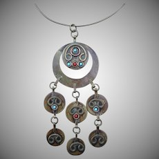 Arts and Craft Vintage Necklace