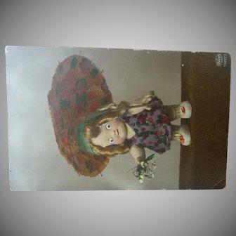 Kewpie Doll Postcard
