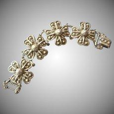 1941 Vintage Signed Etrusceana Bracelet