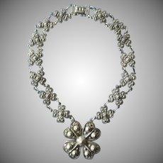 Vintage 1941 Rare signed Etrusceana Necklace