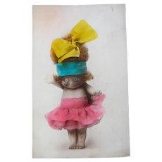 Fantastic Vintage Kewpie Doll Postcard