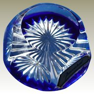 Lovely Vintage Baccarat Crystal Cut Paperweight