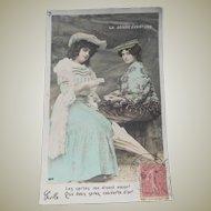 Vintage Photo Postcard of Fortune Teller