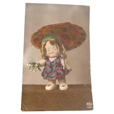 Vintage Early 1900's Kewpie Doll Postcard