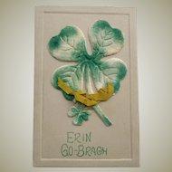 Vintage St. Patrick's Day German Postcard
