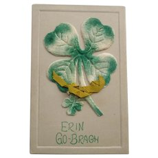 Vintage St. Patrick's Day German Postcard