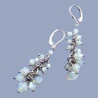 Vintage 1990's Crystal earrings