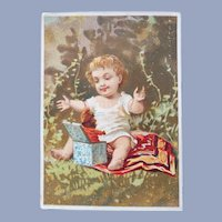 Wonderful Vintage French Doll Advertising Trade Card