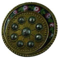 Beautiful French Vintage Button