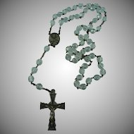 Vintage Crystal Rosary