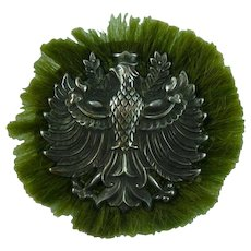 Vintage Silver West German Military Pin