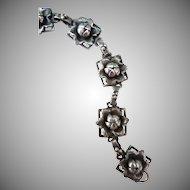 Vintage Sterling Hobe Bracelet