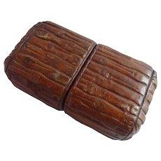 Vintage Tan Leather Case