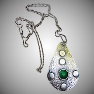 Lovely Arts and Craft Style Pendant/Necklace