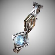 Vintage Sterling Silver Mexican Bracelet