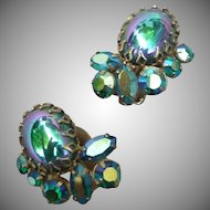 Fabulous Vintage Sherman earrings
