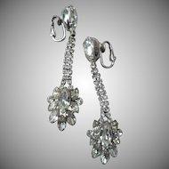 Gorgeous Napier Rhinestone Earrings