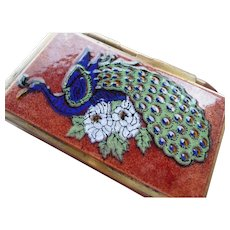 Vintage Enamel writing Case