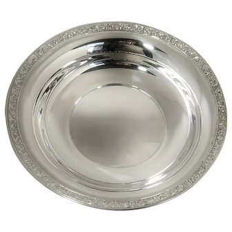 """Sterling Silver Wallace Bowl 9"""" B72 Mint Condition"""