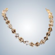 Suarti Sterling Rock Crystal Necklace 20 inches