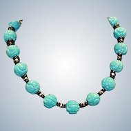 Kenneth Lane KJL Asian Motif Necklace