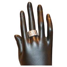 Michael Dawkins Sterling Band Ring 7