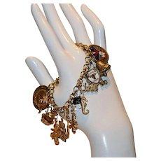 Friends Forever 1960's Charm Bracelet