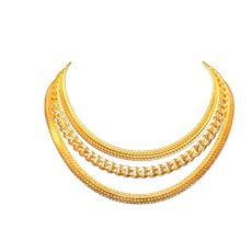 Carolee Triple Strand Choker Necklace