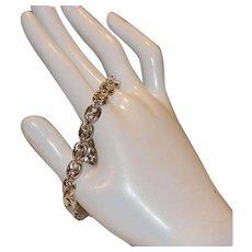 Sterling Mariner Link Bracelet from Italy