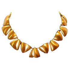 Anne Klein Triangles Choker Necklace