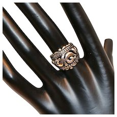 Sterling Scrollwork Ring Mexico