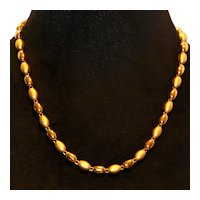 Napier NOS Satin & Polished Necklace